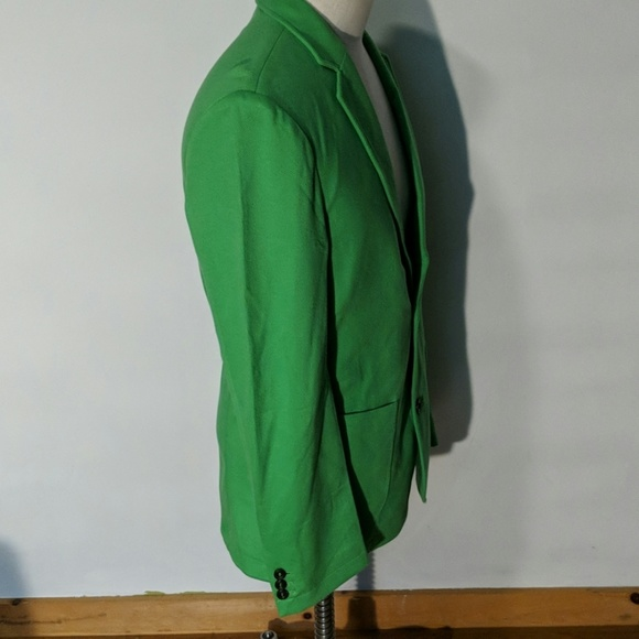 BOAST Men/'s Navy Cotton Pique 1//4 Zip Track Jacket $130 NEW